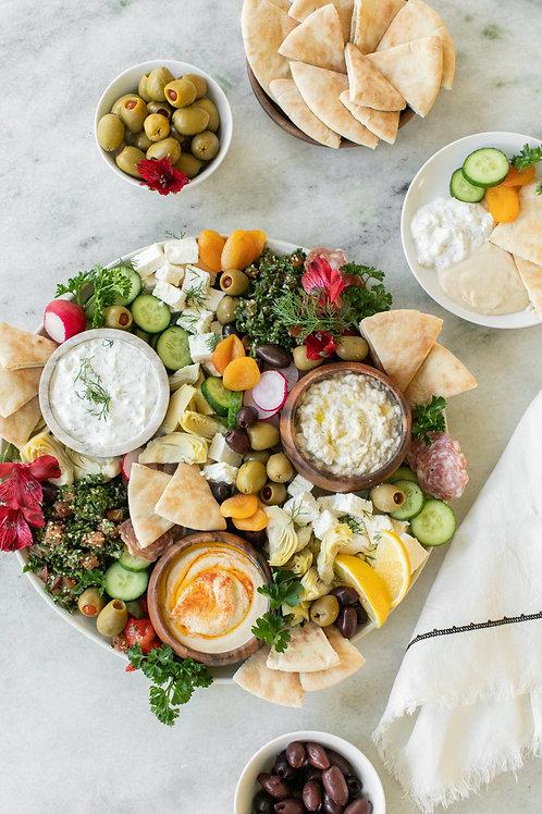 'Burgh Bits and Bites Mezze Platter Box