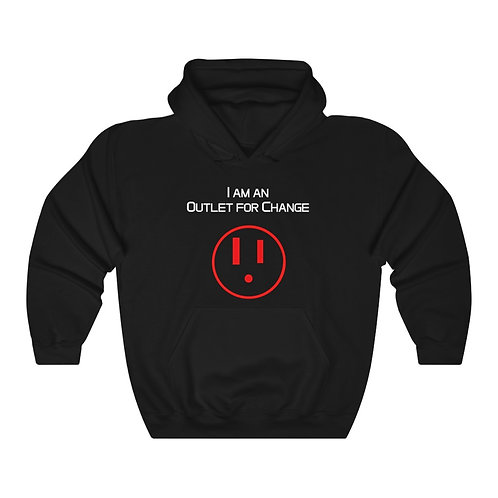 I am an Outlet for Change™ Unisex Heavy Blend™ Hooded Sweatshirt