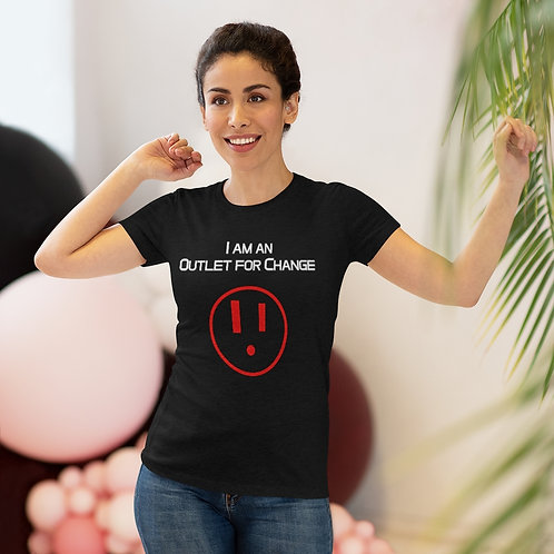 I am an Outlet for Change™ Women's Triblend Tee