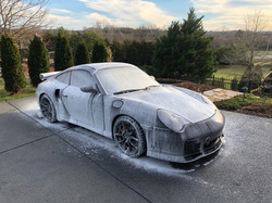 We Love Washing This Porche