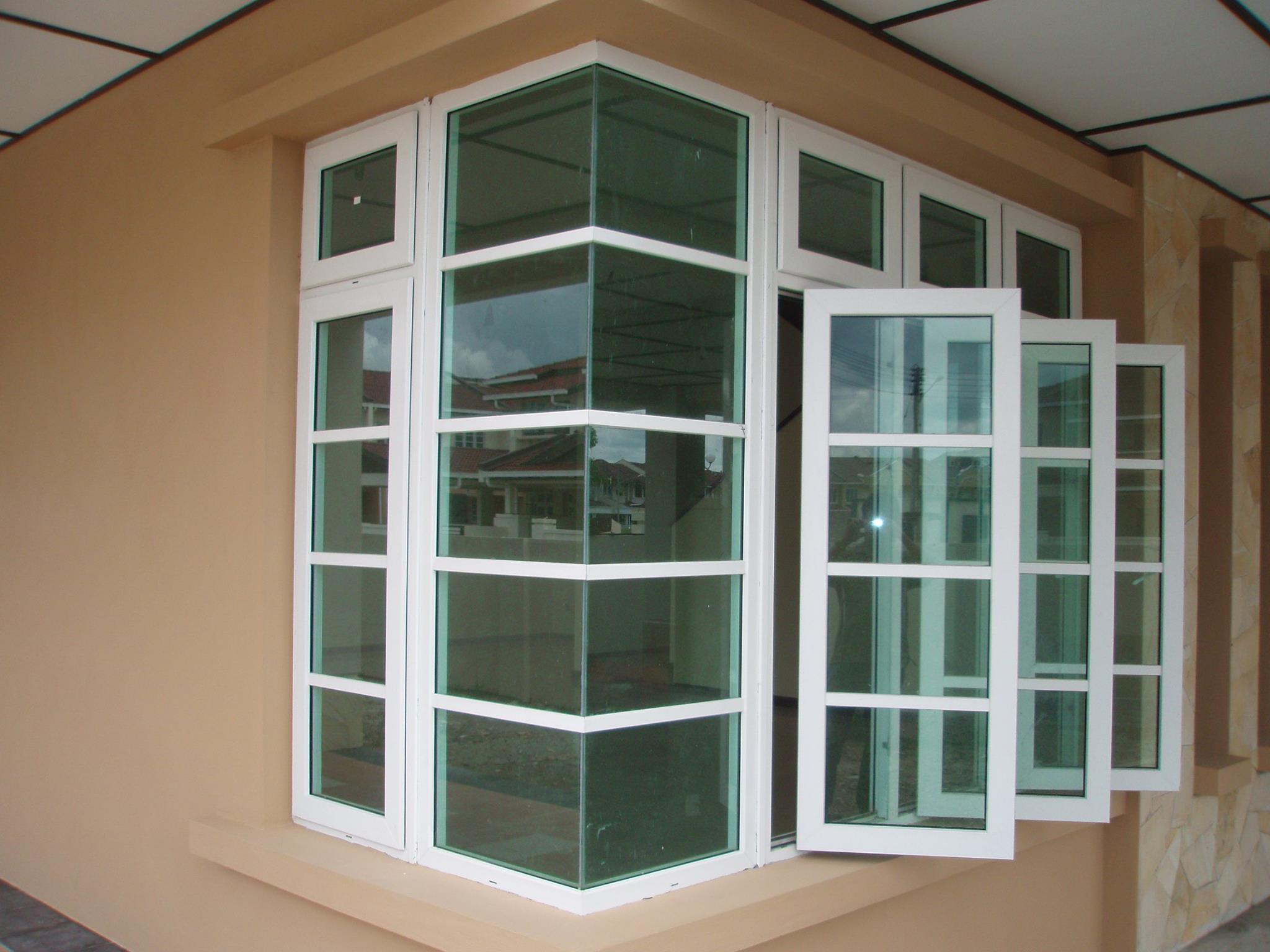 94 Foto Desain Teras Jendela Sudut Paling Bagus Rumah minimalis kaca sudut