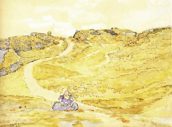 Detail 'Walcherens boerinnetje'
