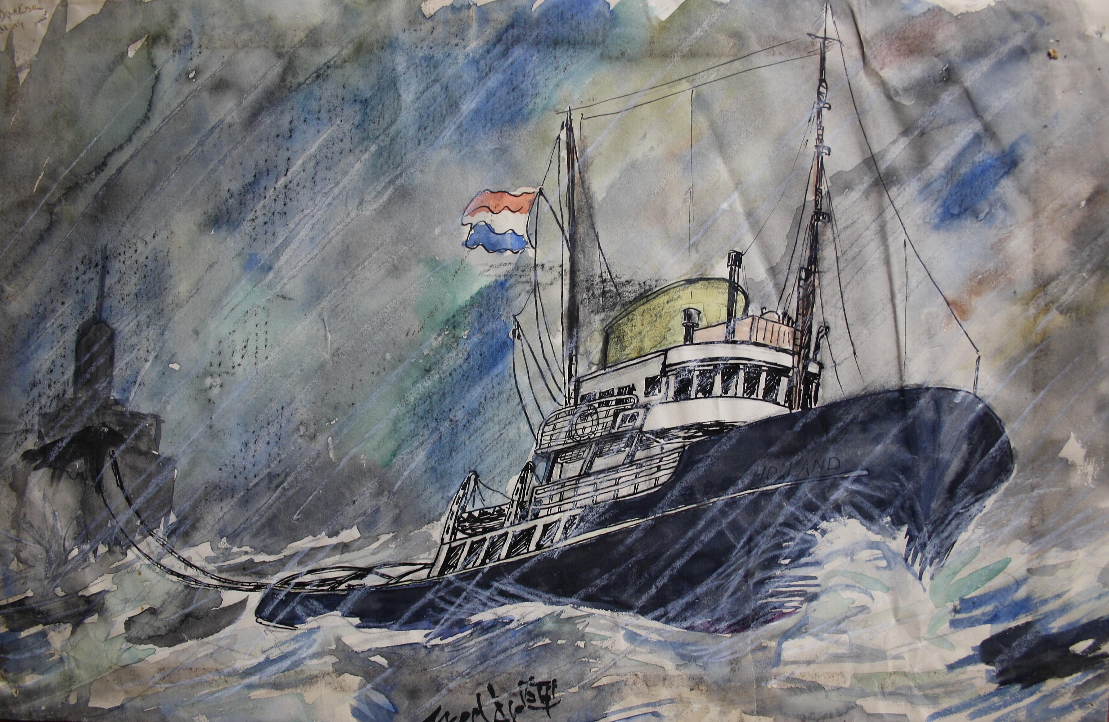 De 'Holland' van Rederij Doeksen