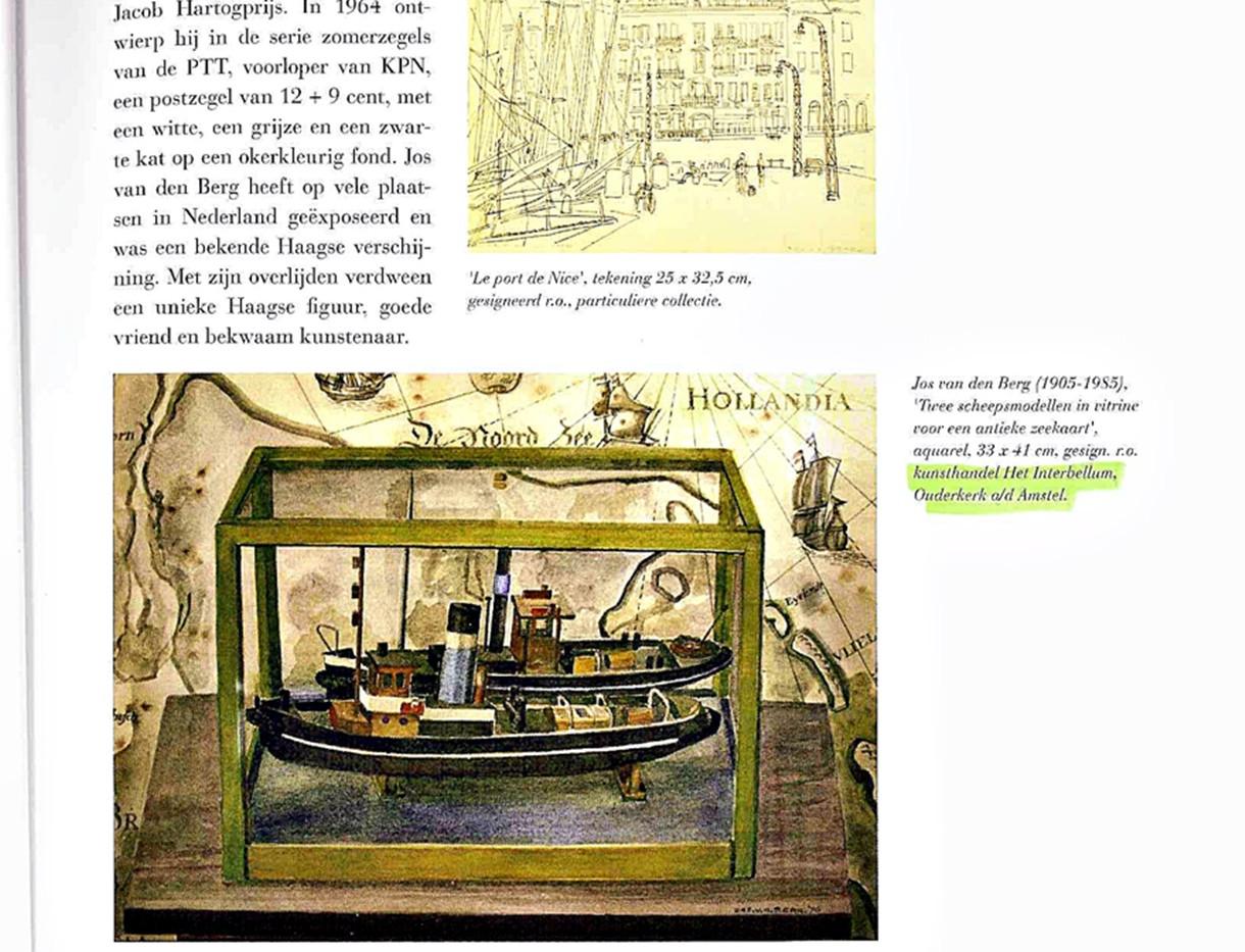 Berg Jos van den-bootjes-Mallemolen boek