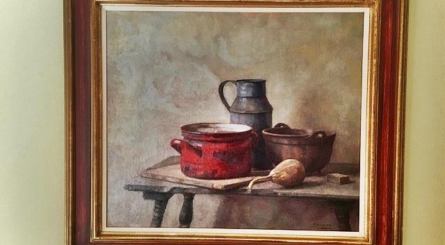 'Stilleven met rode pan'