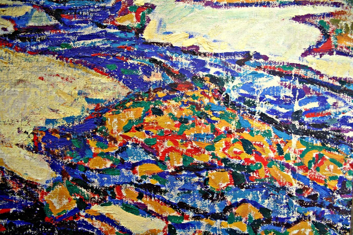 Detail 'Zomer in Spitsbergen'