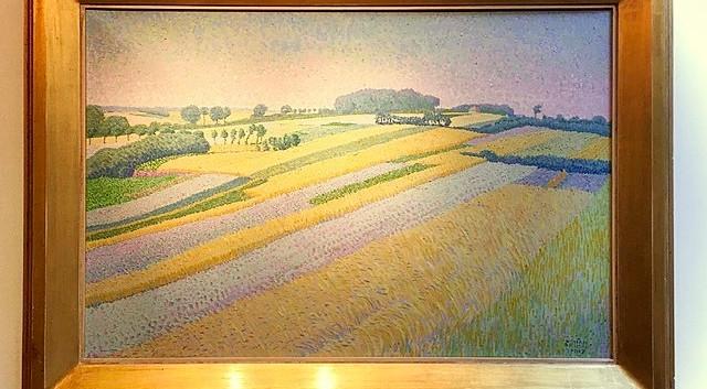 'De korenvelden bij Blaricum'