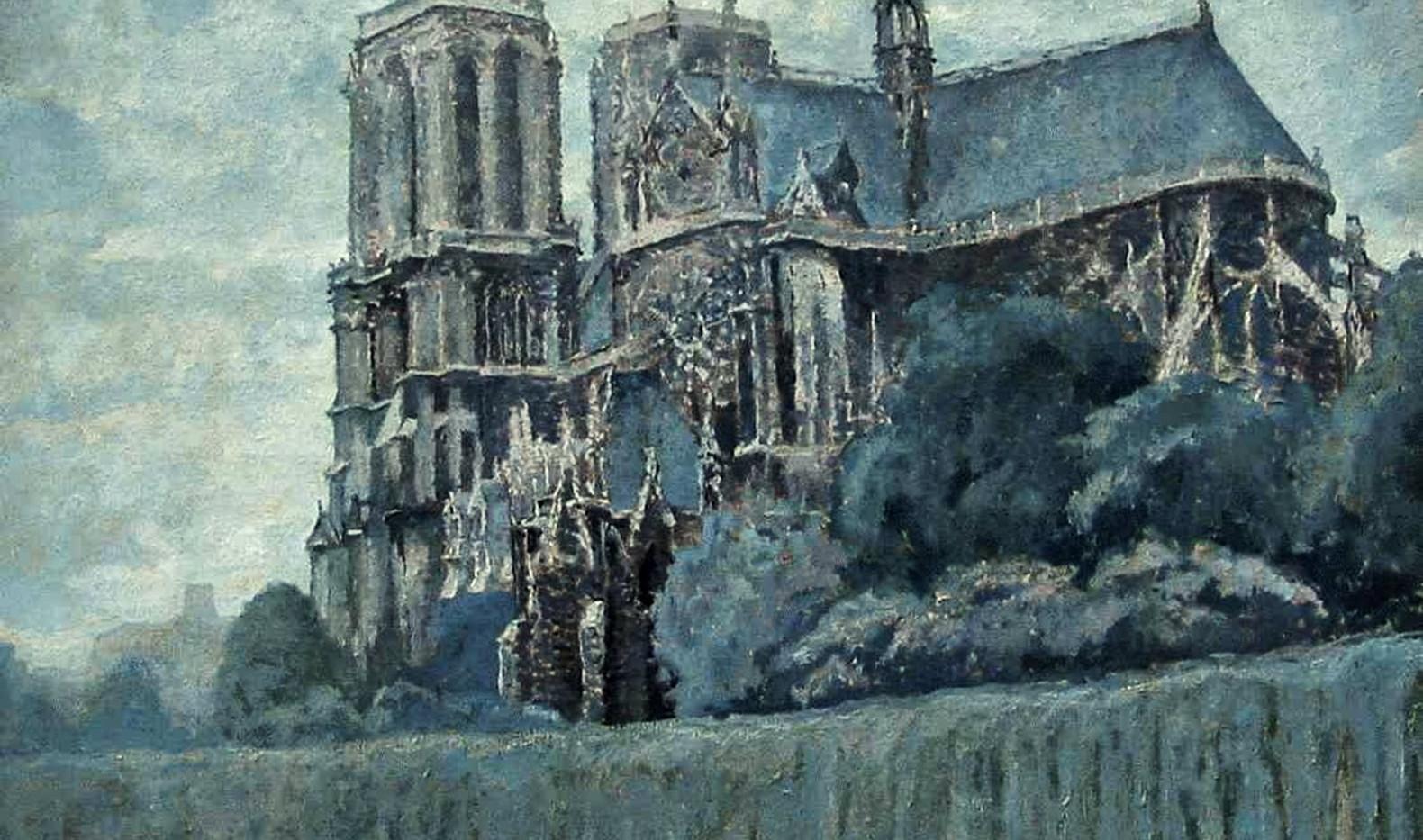 Detail 'Notre Dame te Parijs'
