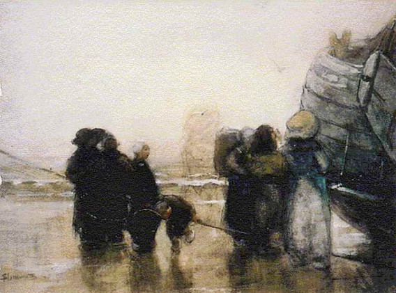 Detail 'Sorting the Catch'
