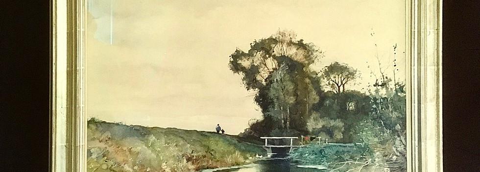 'Wandelen op de  dijk'