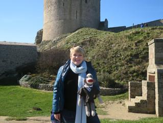 Alison Arngrim (Nellie Oleson) en visite au château !