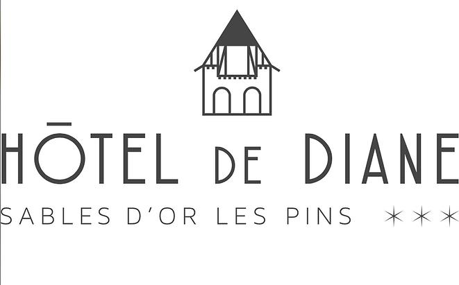 hotel de diane sables d'or les pins bretagne chateau