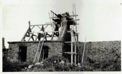 fort la latte chapelle charpente clocheton septembre 1933 - 1