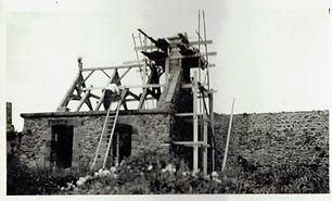 fort la latte chapelle charpente clocheton septembre 1933 - 1.jpg