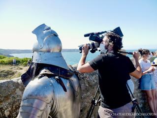 De nouvelles images du tournage pour l'émission de Stéphane Bern.