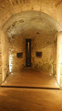 meurtière chateau roche goyon fort la latte donjon_intérieur_extérieur_travaux_gros_mur_joint_brume_cousiège15.j