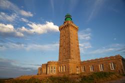 Le phare sur la pointe du Cap fréhel