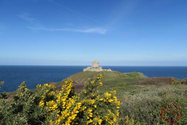 la vue depuis le parc du château