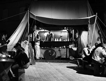 odin's caravan artisans marché médiévales Fort La Latte Roche Goyon 2018