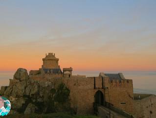 Fin de journée au château