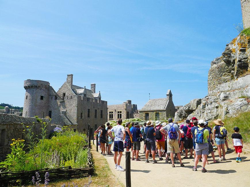 Château De La Roche Goyon / Fort La Latte Visites guidées réservations