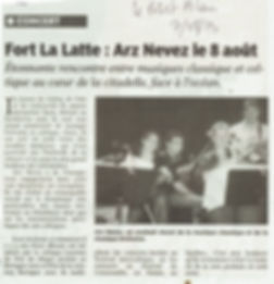 article presse fort la latte La Roche Goyon
