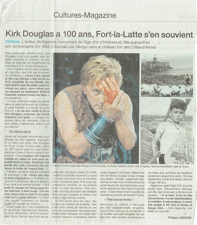 article de presse 2021  Kirk douglas chateau de la Roche Goyon fort la latte.jpg