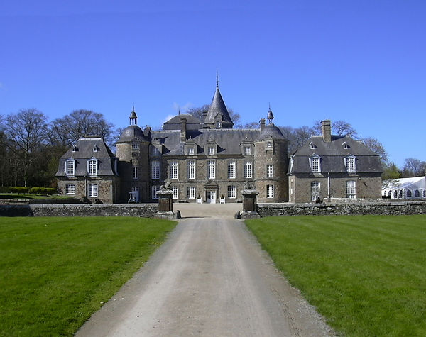 chateau de la Bourbansais