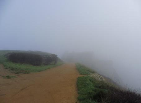 La brume au Fort La Latte