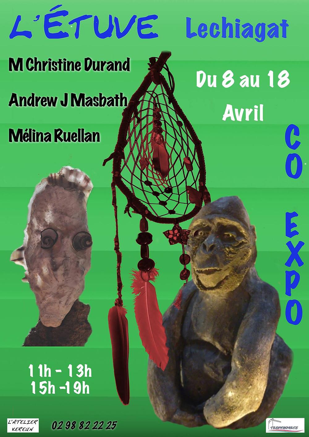 affiche de l'expo à l'étuve
