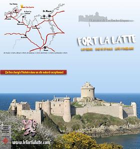 """flyer 2018 Domaine de La Roche Goyon """"Fort La Latte"""""""
