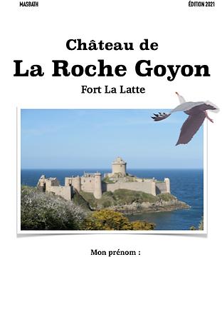 Livret enfants Chateau de la Roche Goyon
