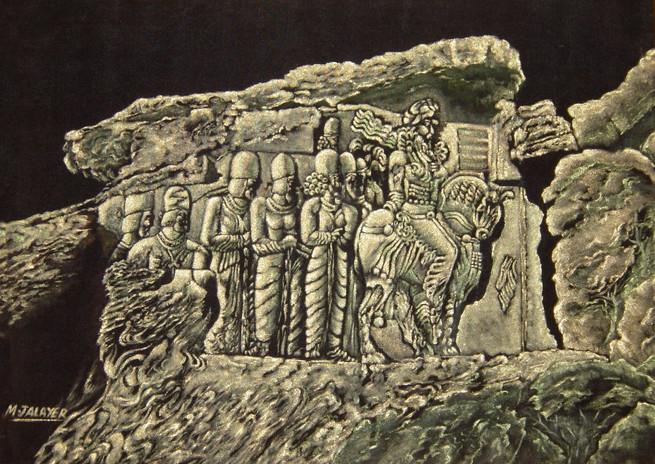 Bass releif in Persepolis