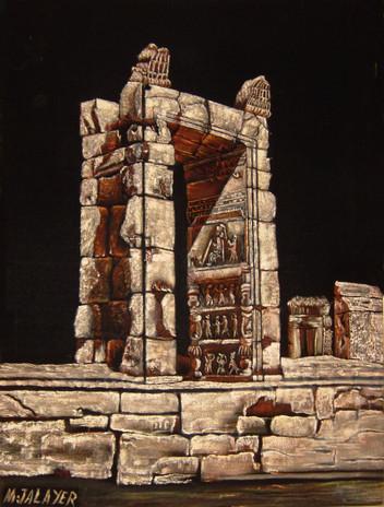 A gate in Darius Palace