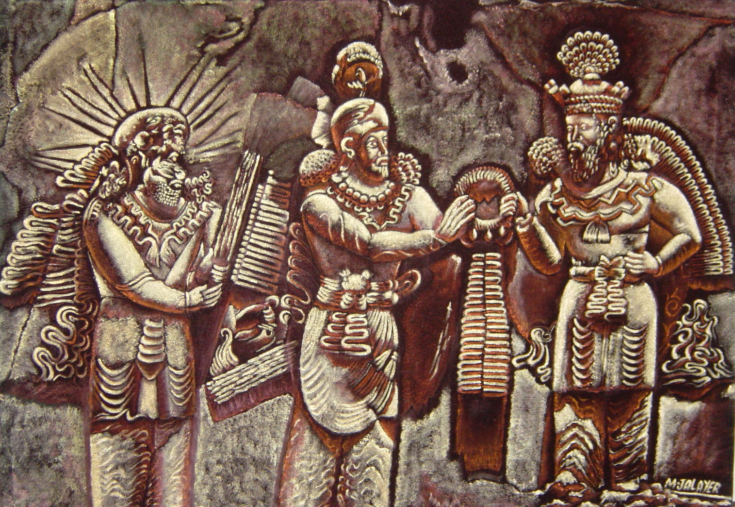 Investiture of King Ardashir II