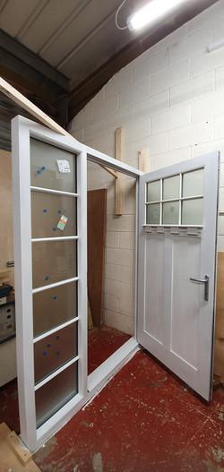 Sapele Door with Multi-Point Locking