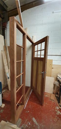 Double-Glazed Sapele Door with Multi-Point Locking