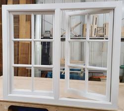 Hardwood Georgian Bar Window