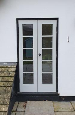 Hardwood Double Glazed Doors