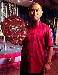 Master Liu Wirral Lifetime achiever in Sport in 2014