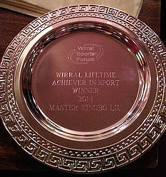 Wirral Lifetime Achiever in Sport Dish