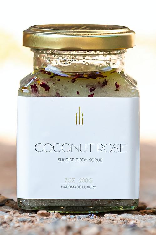 DB Coconut Rose Sunrise Body Scrub