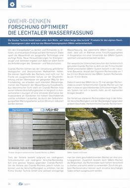 Wasserkraft Magazin