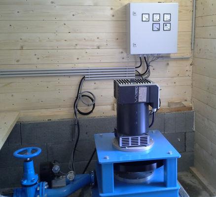 Hydropower Plant Fischerhof