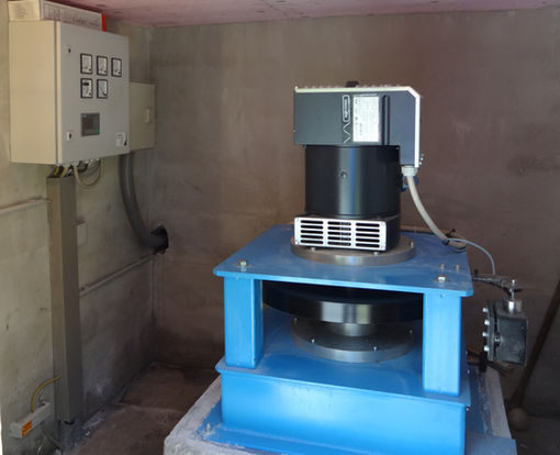 Hydropower Plant Unterberger