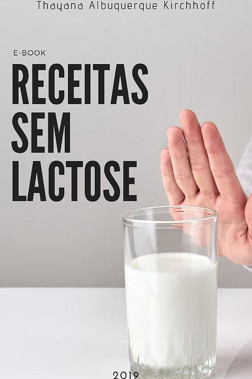 E-book Receitas sem Lactose