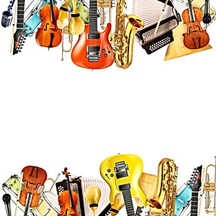 Musical instruments, orchestra or a coll