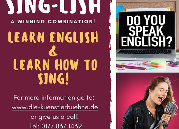 SING-LISH - All in ONE! Learn English & Singing