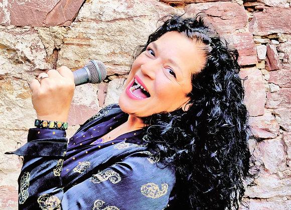 Gesang- Probestunde bei Dozentin Sandy Campos