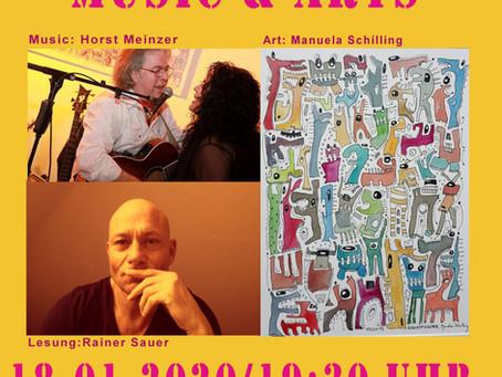 Music & Arts in der Künstlerbühne